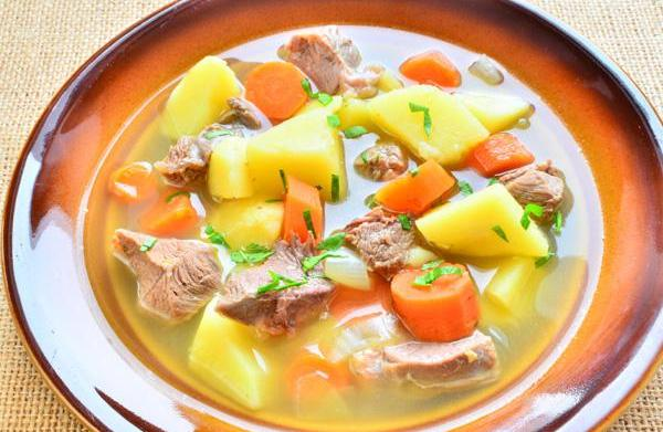 Traditional Irish lamb stew