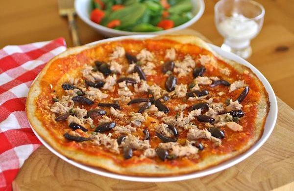 Gluten-free Friday: Tuna and black olive