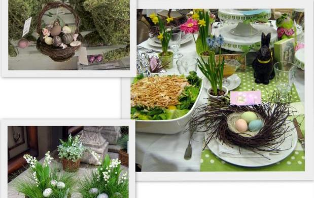 5 Simple spring tablescapes