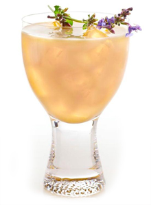 ZEN Blossom Iced Tea Cocktail