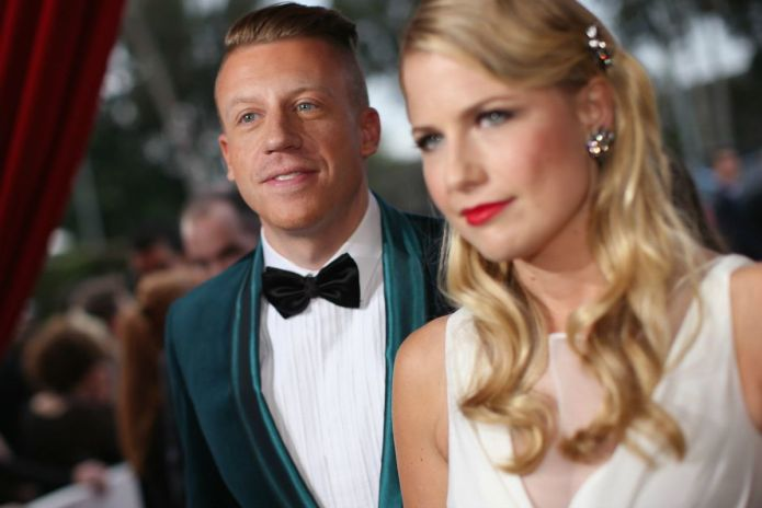 Macklemore introduces daughter Sloane to the