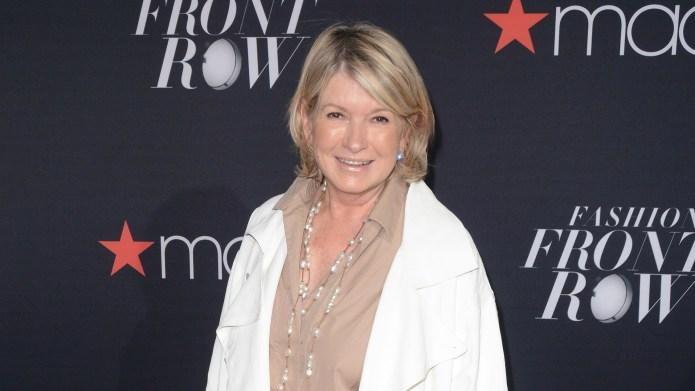 Martha Stewart is a total cougar