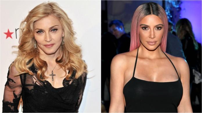Madonna & Kim Kardashian West Are