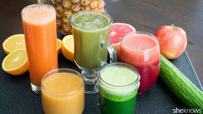 5 Healthy homemade juice blends to
