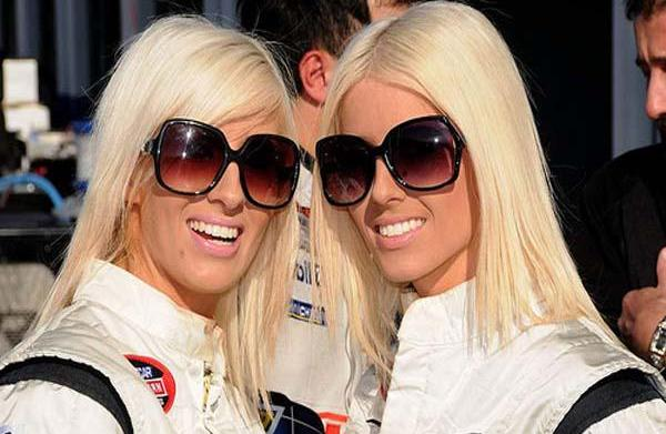 Amber and Angela Cope: NASCAR drivers