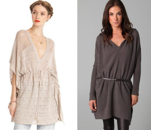 Best fall sweater trends for wedge-shaped