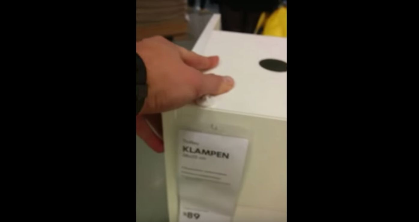 man annoys girlfriend with IKEA product puns