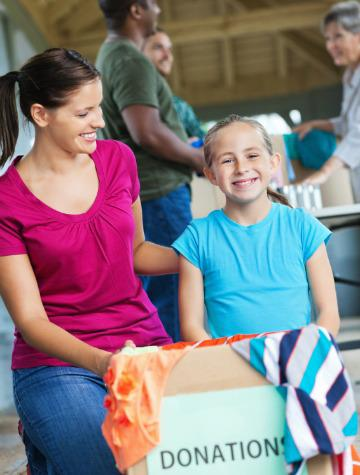 Spring cleaning and charitable deductions
