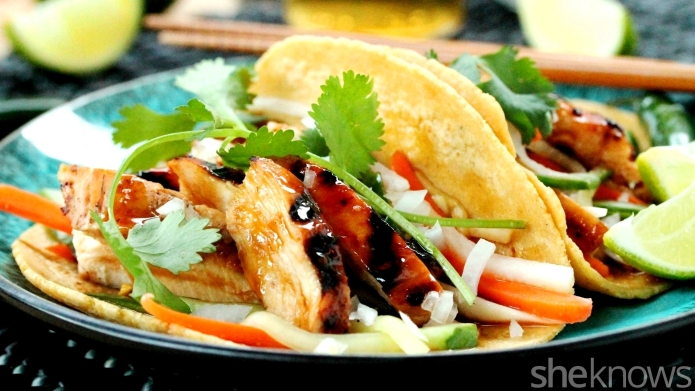 Street food hack: Mexican meets Asian