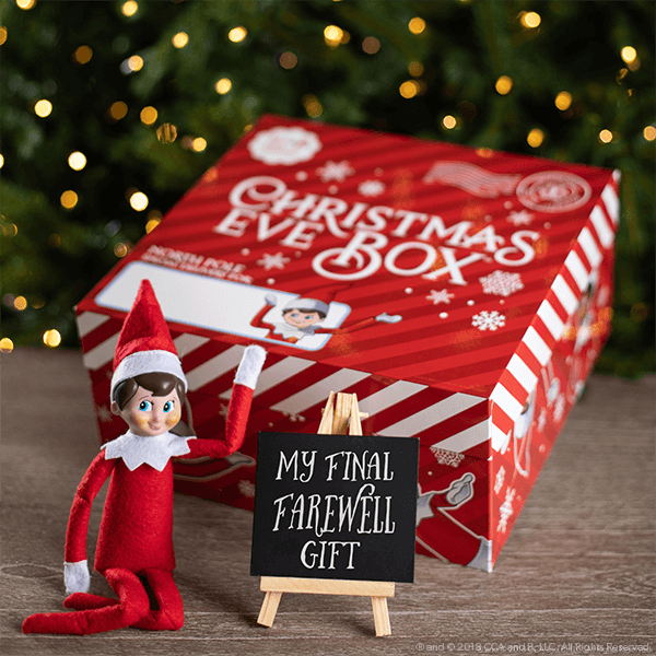 Elf on the Shelf Christmas Eve Box