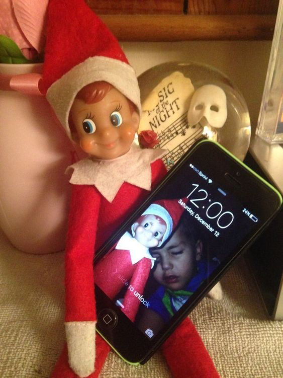 Elf on Shelf Elfie