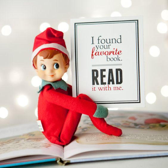 Elf on the Shelf Favorite Book