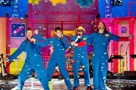 Imagination Movers in concert