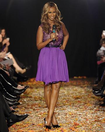 Iman at NY Fashion week