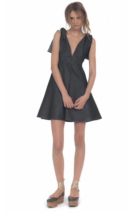 Derek Lam Indigo Denim Sun Dress eBay Collection