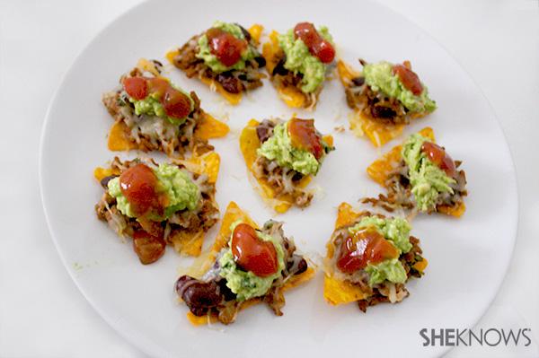 Individual nachos recipe