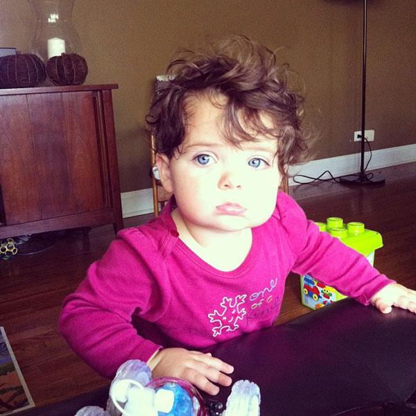 Instagram babies - Samantha Campen's daughter, Ellie