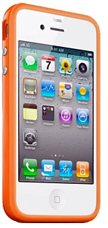 iPhone 4 bumper case from Apple
