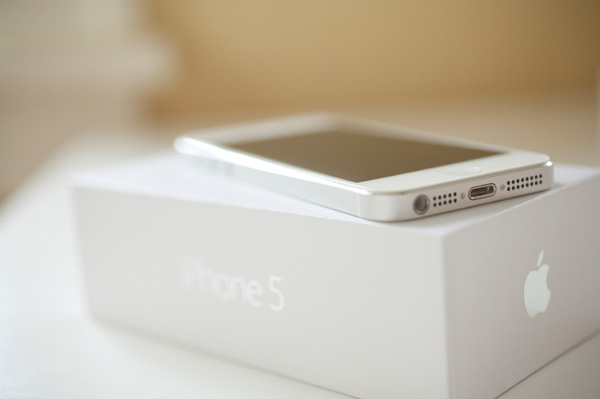 iphone 5 in box