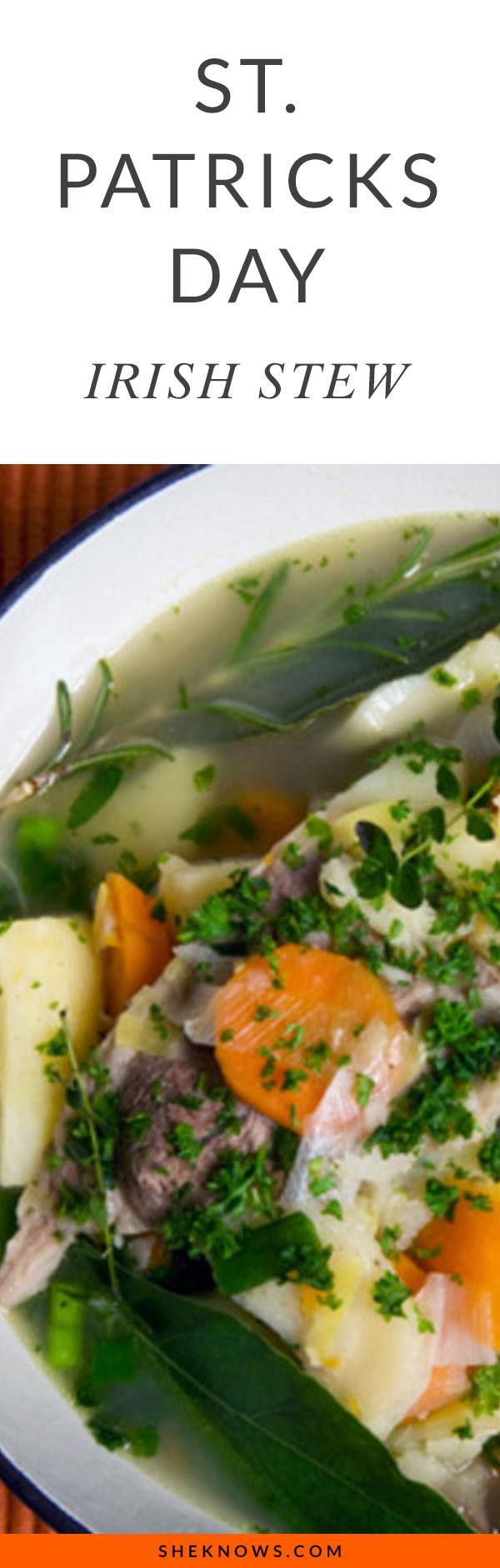 St Patrick's Day Irish Stew