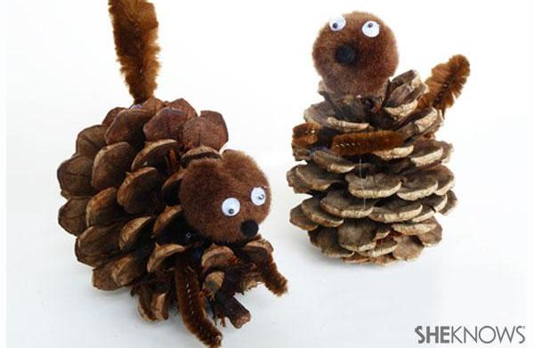 Make your own Surly pine cone