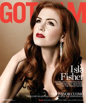 Isla Fisher Gotham magazine
