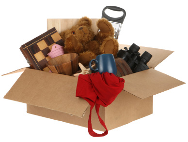 box of clutter