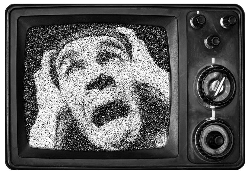 Horror movie on tv