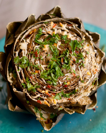 Italian stuffed artichoke recipe