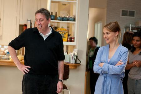 Ivan Reitman and Natalie Portman