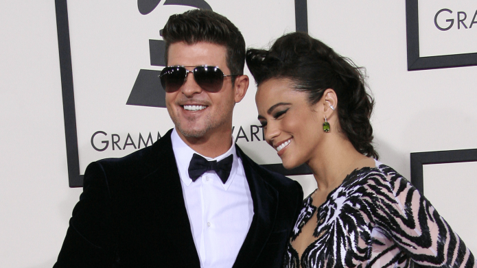 Robin Thicke Hit with Restraining Order