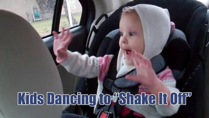 Watching babies dance to Taylor Swift