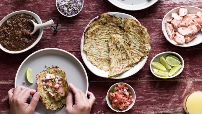 Zucchini tortillas let you feel a