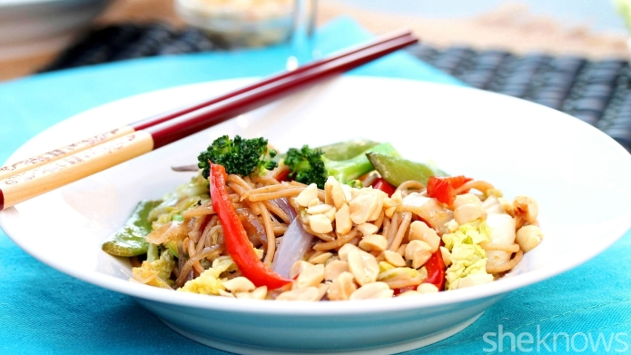 Meatless Monday: Teriyaki noodle and veggie