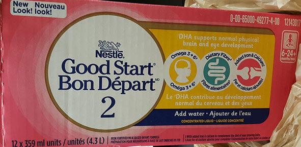 Nestlé recalls infant formula following consumer