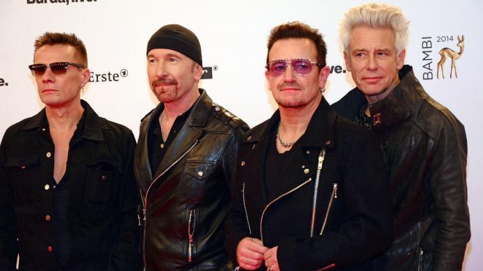 U2 frontman Bono won't be cycling