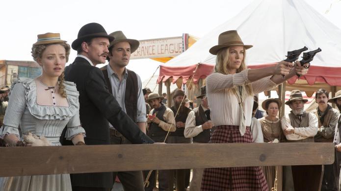 """Why Charlize Theron """"begged"""" Seth MacFarlane"""