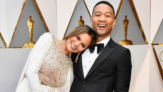 Chrissy Teigen Shares Ultrasound Pic, Plays
