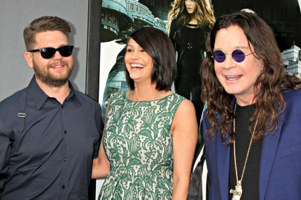 Jack Osbourne, Lisa Stelly, Ozzy Osbourne