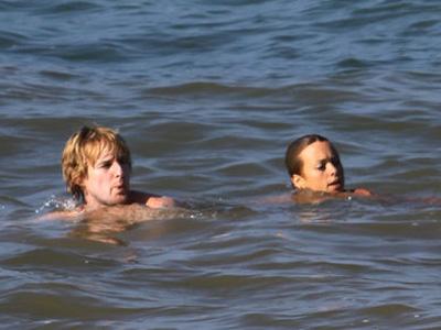 Owen Wilson and Jade Duell