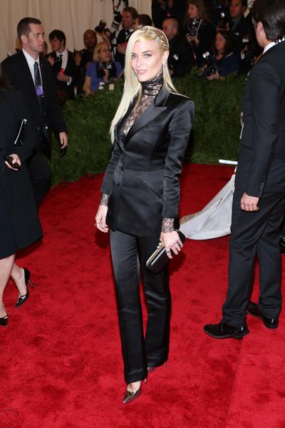 Pregnant Jaime King at Met Gala