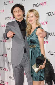 James Franco and Ahna O'Reilly dating