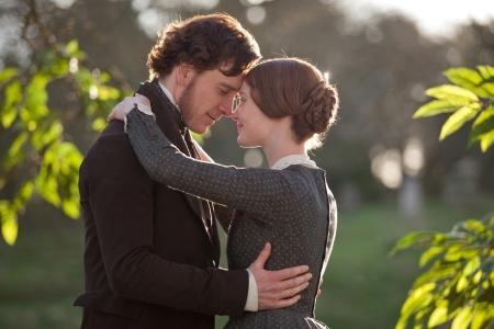 Jane Eyre stars Michael Fassbender and Mia Wasikowska
