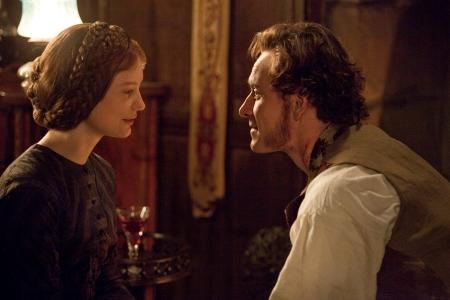 Jane Eyre stars Mia Wasikowska and Michael Fassbender