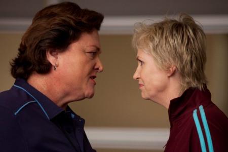 Jane Lynch in the season premiere of Glee