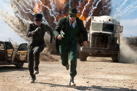 Seth Rogen in The Green Hornet
