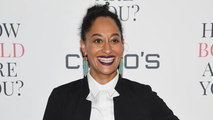 Tracee Ellis Ross Laughs at Fake