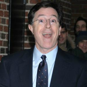 Stephen Colbert rocks out to Daft