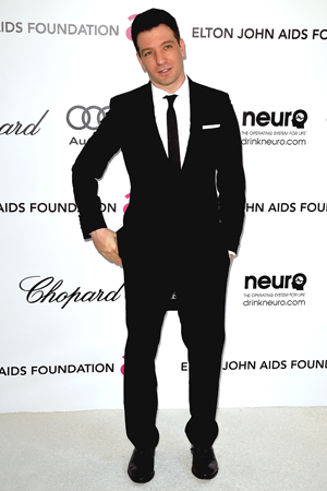 J.C. Chasez voices his support for Tony Lucca