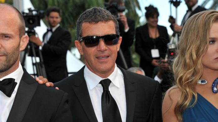 Sharon Stone denies Antonio Banderas affair